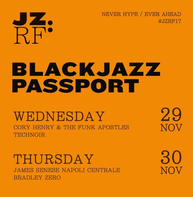 JZRF BlackJazz Passport