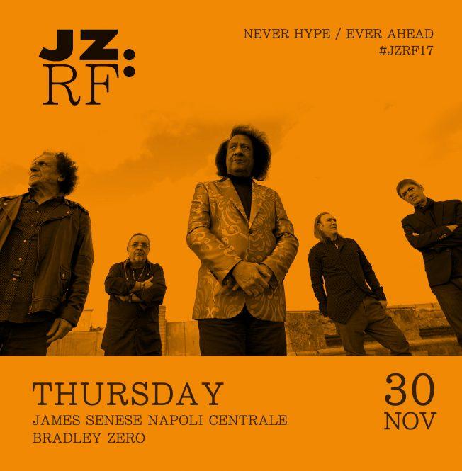 JZRF James Senese Napoli Centrale Giovedì 30 Novembre