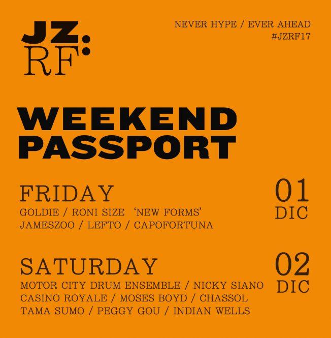 JZRF Weekend Passport